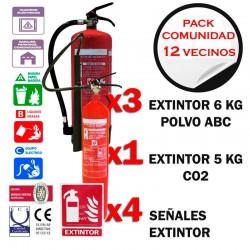 Oferta Extintores comunidad de 12 vecinos