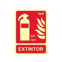 Señal Extintor homologada