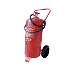 Extintor carro 50 kg polvo abc con ruedas