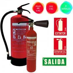 Set Extintores para empresa