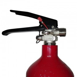 Detalle extintor gas CO2 5 kg